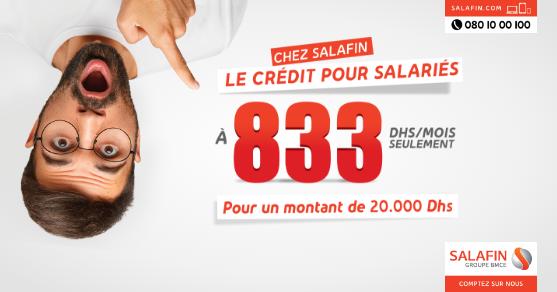 Offre salariés 20 000 DH - Février